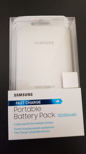 Portable battery pack new 10200mah for Sale in Croydon, PA