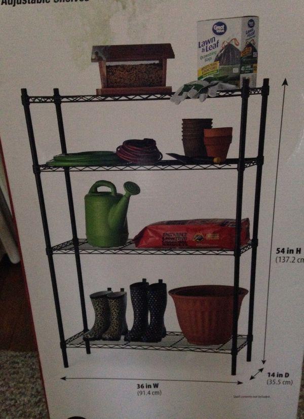Utility shelf