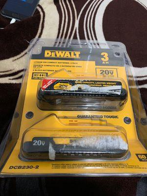 Baterias para los taladros son nuevas las 2 for Sale in Dallas, TX