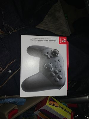Nintendo switch pro controller for Sale in Temecula, CA