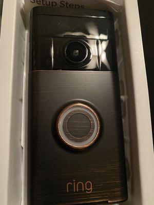 Ring Venetian Bronze Wireless Video Doorbell for Sale in Raleigh, NC