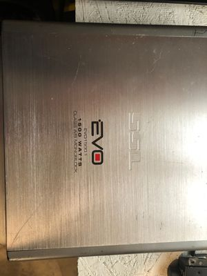 Eco 1500.1 Ab amp for Sale in Tacoma, WA