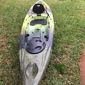 NEW PERCEPTION PESCADOR 12 FISHING KAYAK for Sale in Tampa, FL