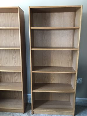 Tall Wood Bookshelves for Sale in Alexandria, VA