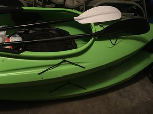 Kayaks set of 2 with paddles for Sale in Farmington Hills, MI