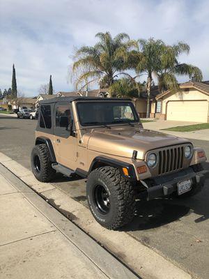 2000 Jeep Wrangler for Sale in Salida, CA