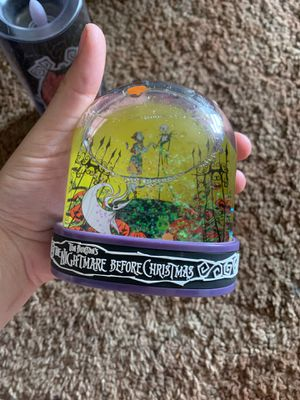 Disney nightmare before Christmas snow globe for Sale in Dinuba, CA