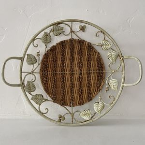 Fruit Basket, Woven/wire for Sale in Los Angeles, CA