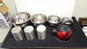 New stainless steel dishware for Sale in Buena Park, CA