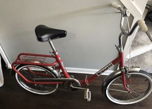 Vintage Folding Bianchi Bicycle 1960s for Sale in Chicago, IL