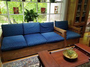 6 pc Sofas- including Footrests for Sale in Rockville, MD