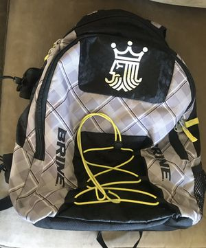 Lacross gear. Back pack and eye guards for Sale in Cumberland, RI