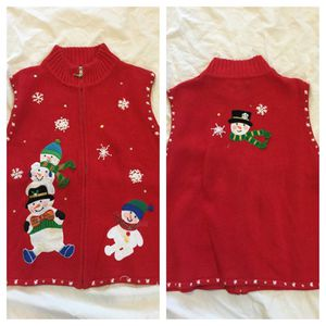 UGLY CHRISTMAS SWEATER VEST for Sale for sale  Glendale, CA