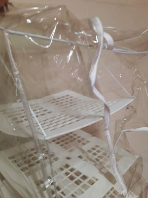 Plastic Zippered Cover Hanging Organizer for Sale in San Antonio, TX
