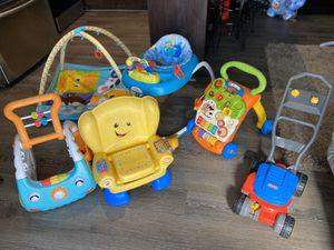 Kids toys, walker, play mat for Sale in La Presa, CA