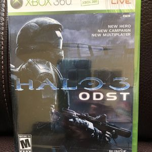 Xbox 360 halo ODST for Sale in Los Angeles, CA