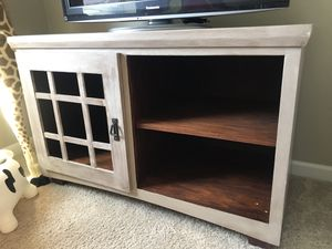 Refinished tv stand for Sale in Lake Stevens, WA