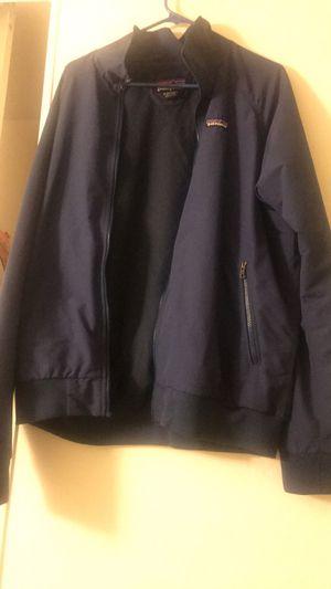 Patagonia blue zip up jacket for Sale in Santa Cruz, CA