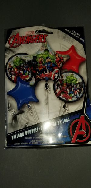 Avengers mylar balloon bouquet new for Sale in San Diego, CA
