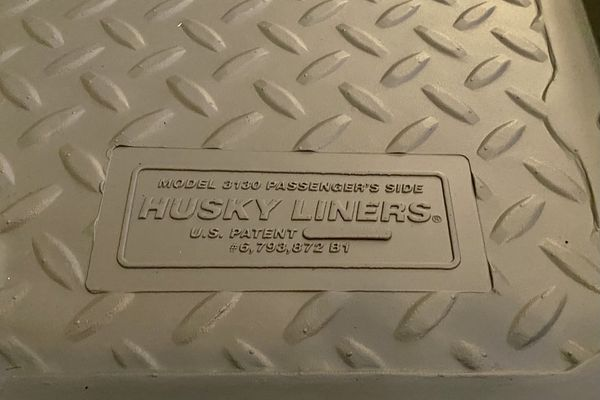 """Brand New Set of Grey """"Classic"""" Husky Liners Chevy/ GMC Full Size/ Ext Cab Truck"""