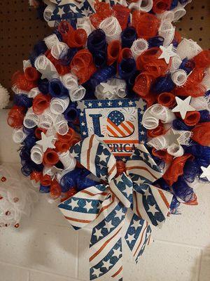 I Love America Wreath for Sale in Cunningham, VA