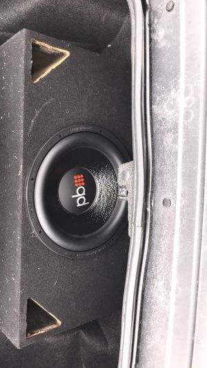 15 inch sub with 3000 watt amp for Sale in Alexandria, VA