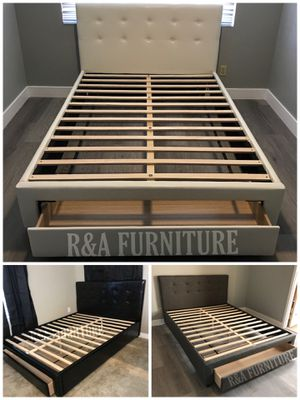 QUEEN OR FULL BED FRAME for Sale in Phoenix, AZ