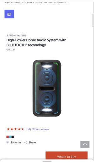Sony speaker for Sale in Los Angeles, CA