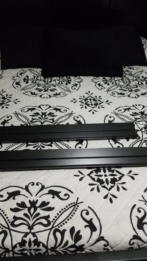 2 black wall shelves. for Sale in Seffner, FL