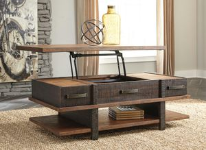 Ashley Furniture Two-tone Lift Top Cocktail Coffee Table for Sale in Garden Grove, CA