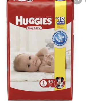 Huggies size 1 Diapers for Sale in Houston, TX