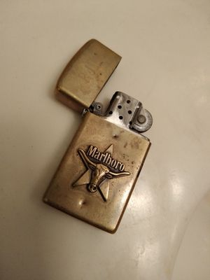 Marlboro vintage collectible long horn Zippo lighter for Sale in Lorain, OH