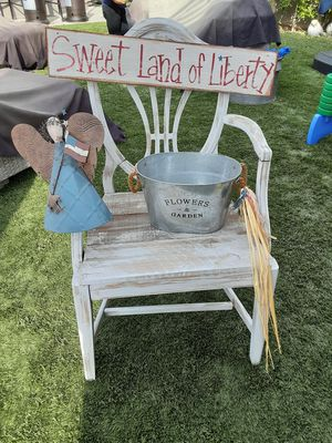 Farmers chair patio/garden $10 for Sale in Montebello, CA
