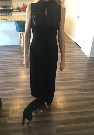 Black dress. Homecoming. Size 6 for Sale in Murrieta, CA