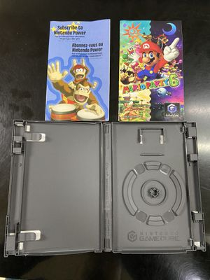 Game Cube Mario Party 6 Game Case and Manual only (No Disc) for Sale in Elk Grove, CA
