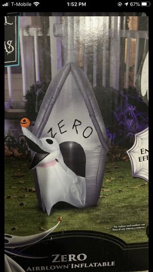 Zero From the nightmare before Christmas for Sale in Union City, CA