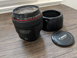 Canon 85mm f/1.2L Lens for Sale in Queens, NY