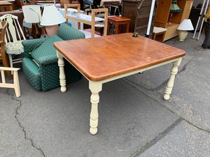 Farmhouse dining table for Sale in Ashland, OR