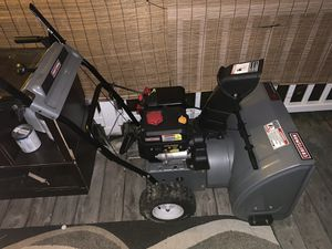 """Craftsman Snowblower 24"""" with Electric Start for Sale in Doylestown, OH"""