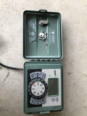 Orbit 4-Station Easy-Set Logic Indoor/Outdoor Sprinkler Timer for Sale in Chino Hills, CA