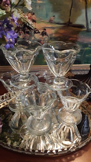 Vintage Anchor Dessert Dishes for Sale in Greensboro, NC