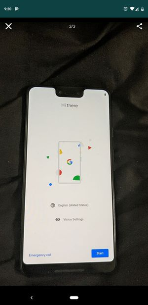 2 Verizon Pixel 3XL unlocked for all carriers all accessories no box for Sale in Takoma Park, MD
