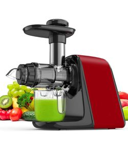 Slow Masticating Juicer, Cold Press Juicer Extractor with High Hardness Tritan Not Break, Superior Motor Not Jammed, Slow Juicer Easy to Clean, 3 Mod for Sale in Corona,  CA
