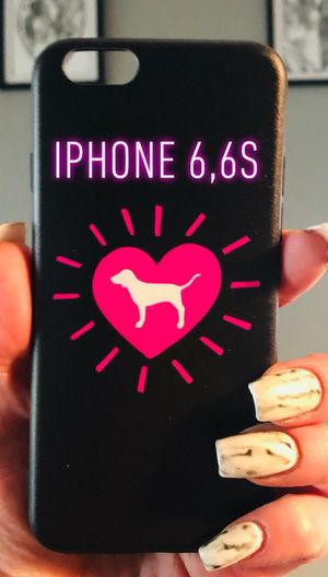 New cool iphone 6 6s case rubber pretty Victorias secret labrador dog heart for Sale in San Bernardino, CA