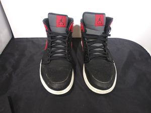 Air Jordan 1 Oggi's size 11 and 1/2 black and red colorway 2013 for Sale in Harper Woods, MI