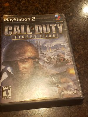 Ps2 call of duty for Sale in Phoenix, AZ