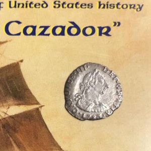 Genuine Spanish 1/2 Reales From El Cazador for Sale in Annapolis Junction, MD