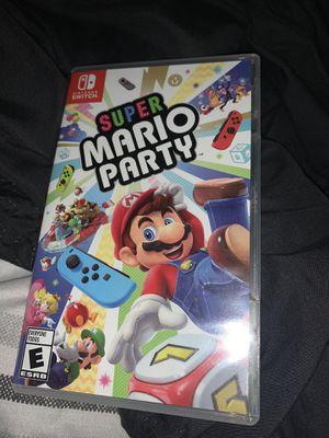 Mario party Nintendo switch for Sale in Alpharetta, GA