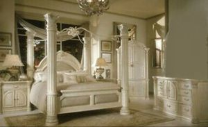 AICO by Michael Amini bedroom set. Check our other posts and our prices for Sale in Lake Worth, FL