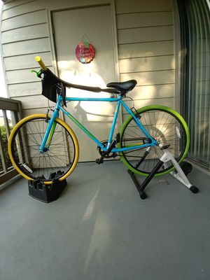 Green and blue bike for Sale in Lawrenceville, GA